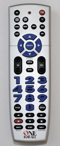 one for all remote urc 11-7940 instruction