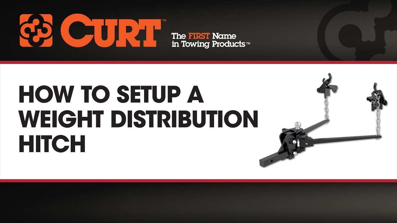Husky weight distribution hitch installation instructions