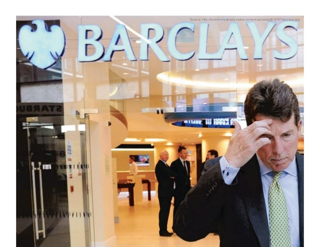 Barclays and the libor anatomy of a scandal pdf