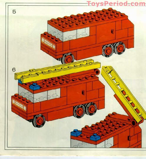 lego fire engine instructions
