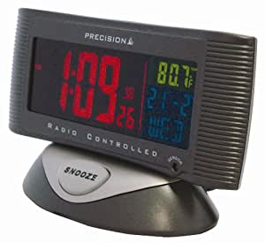 acctim radio controlled alarm clock instructions