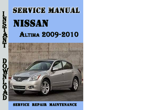 2009 nissan altima coupe owners manual