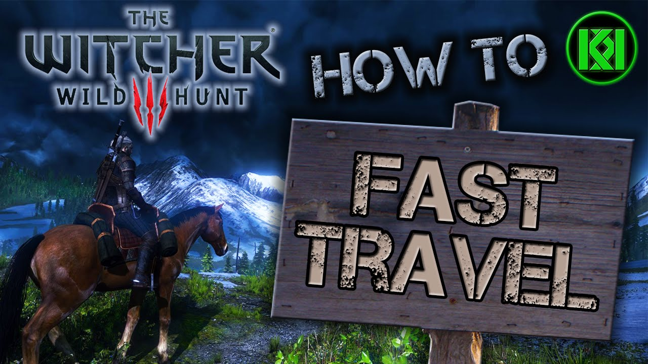 The witcher 3 how to go to novigrad fast