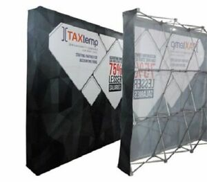 pop up display booth instructions