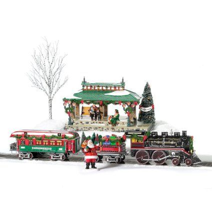 lemax christmas train instructions
