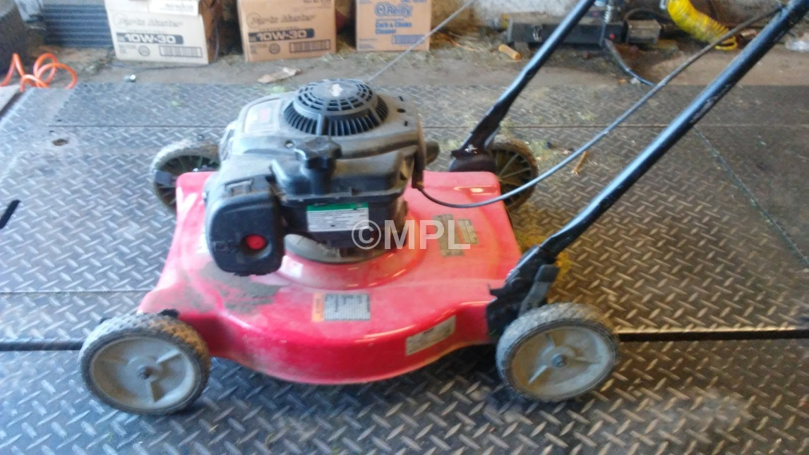 Briggs and stratton 300 series lawn mower manual