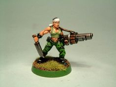 Catachan jungle fighters painting guide