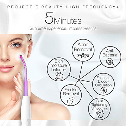 New spa high frequency instructions
