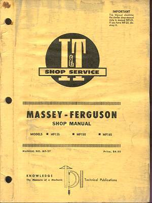 massey ferguson 165 manual online