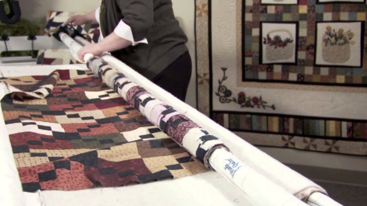 handi quilter frame instructions