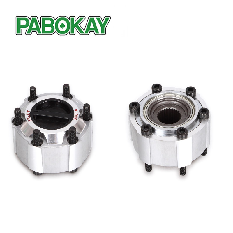 Nissan patrol manual locking hubs