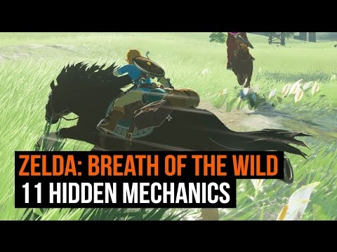 Zelda breath of the wild how to make camp fire